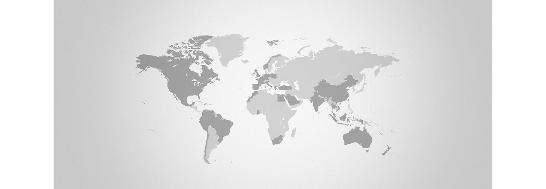wereldkaart met afzetlanden Anthura