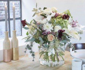 snijanthurium gespot bij Bouquet Tales
