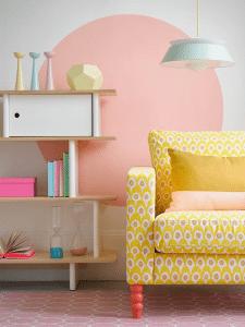 Pastel-interieur