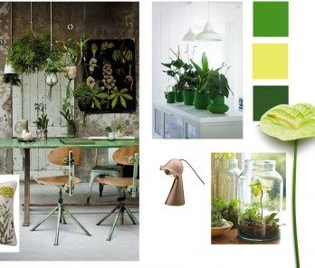 Go green met de Urban jungle stijl