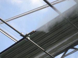 Hoge druk luchtbevochtiging