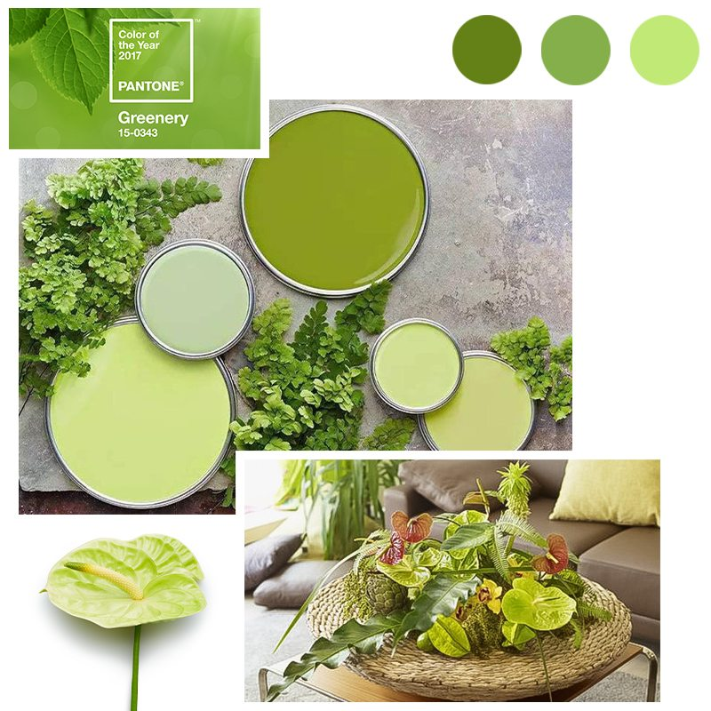 Green living with Pantone Greenery