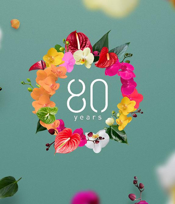 Anthura 80-jarig jubileum