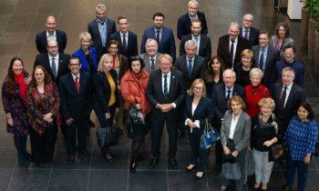 Ambassades brengen bezoek aan Greenport West-Holland
